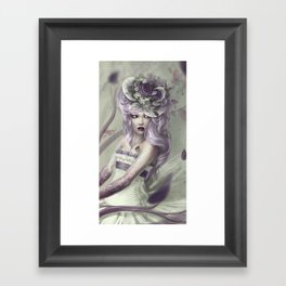 Poisoned Lullaby Framed Art Print
