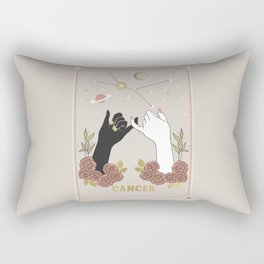 Cancer Zodiac Series Rectangular Pillow
