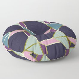 Ultra Deco 3 #society6 #ultraviolet #artdeco Floor Pillow