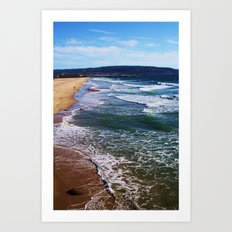 Just Beachy Art Print