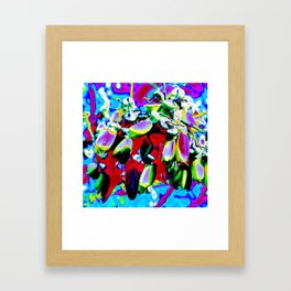 """Kiwi Lifestyle"" - Kowhai Pop ART Framed Art Print"