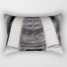 Old Montreal Columns Rectangular Pillow