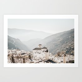 Sierra Nevada Mountaintop Village | Bubión, Spain | Fine Art Travel Prints, saige ash studio Art Print