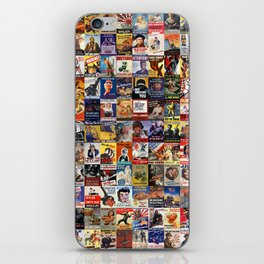 WWII Posters iPhone Skin