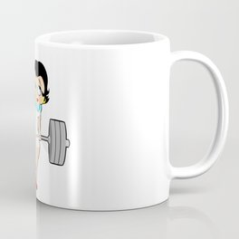 Weightlifting girl Coffee Mug
