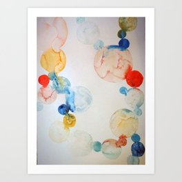 Delicate Worlds 2 Art Print