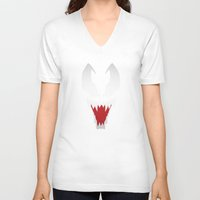 venom V-neck T-shirts featuring Venom by Sport_Designs