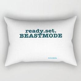 Ready Set Beastmode Rectangular Pillow