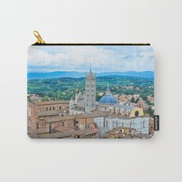 Siena, Italy - from above III Carry-All Pouch