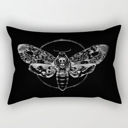 Death's-head Hawkmoth Rectangular Pillow
