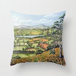 Pen Y Fan, Brecon Beacons Throw Pillow