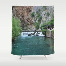 Blagaj Tekke Blagaj Bosnia and Herzegovina Ultra HD Shower Curtain