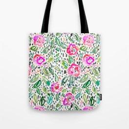 Hibiscus Frolic Tote Bag