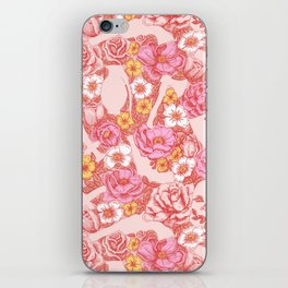 Weapon Floral iPhone Skin