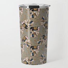 Klimt arabesque 2 Travel Mug