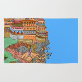 Cliff City Wizards Rug