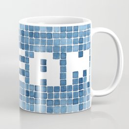 Dream watercolor mosaic typography Coffee Mug