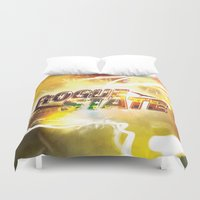 rogue Duvet Covers featuring Rogue State by SeraphimChris