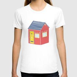 Little Red Scandinavian House T-shirt