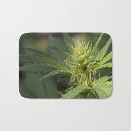 Cannabis Flower Bud Bath Mat