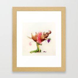 Dance of the Hours Framed Art Print