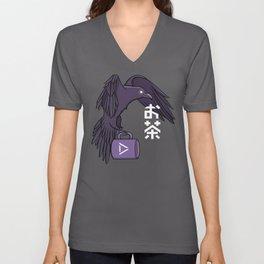 Raven Familiar // Ocha Unisex V-Neck