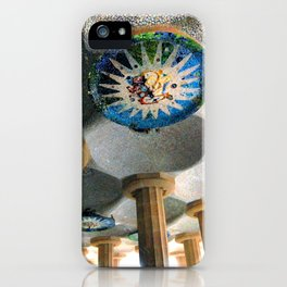 Gaudi Series - Parc Güell No. 2 iPhone Case