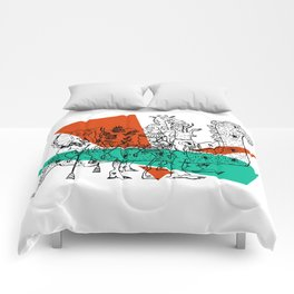 Adjacent Fourmula Comforters
