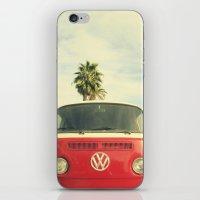 vw iPhone & iPod Skins featuring VW Coastin' by RichCaspian