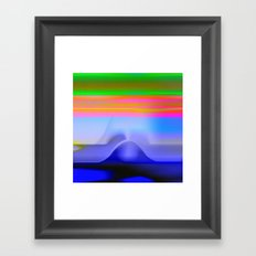 Blind with View 101 Framed Art Print