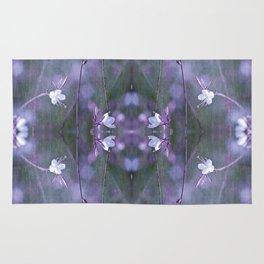 melancholy flowers Rug