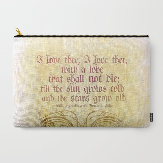 I Love Thee I Love Thee ROMEO JULIET SHAKESPEARE LOVE QUOTE New Romeo And Juliet Quotes About Love
