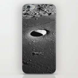 Apollo 10 - Moltke Moon Crater iPhone Skin