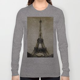 Paris Flea Market Long Sleeve T-shirt