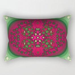 Button Royal Rectangular Pillow