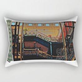 Bradbury Building Rectangular Pillow