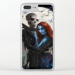 The Nightmare Before Christmas Jack Clear iPhone Case