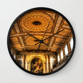 Navy Chapel Greenwich Wall Clock