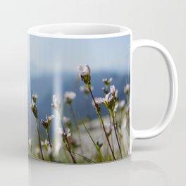white mountain flowers Coffee Mug
