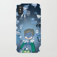 video games iPhone & iPod Cases featuring Classic Video Games by Scott Hallett