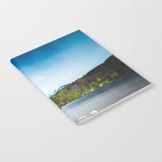 Lake Bohinj with Alps in Slovenia Notebook