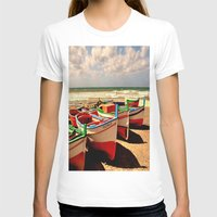 boats T-shirts featuring boats by  Agostino Lo Coco