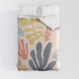 Matisse Cutouts Homage - Abstract Painting Comforters