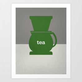 Tea/Coffee Art Print