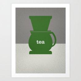 Tea/Coffee Art Print