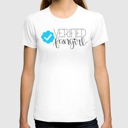 Verified Fangirl T-shirt