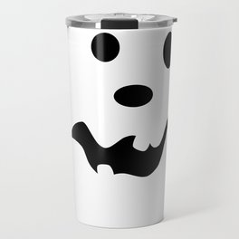 Scared Jack O'Lantern Face Travel Mug