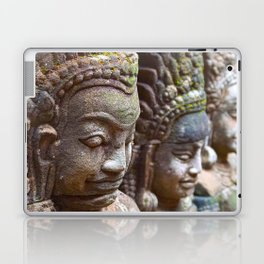 Apsara Carvings Laptop & iPad Skin