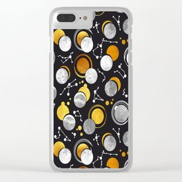 Great Total Solar Eclipse Clear iPhone Case