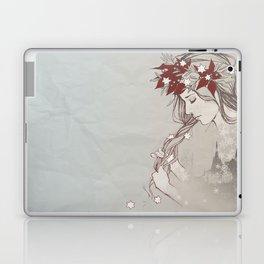 Christmas Lady II Laptop & iPad Skin